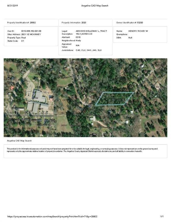 2921 Mckinney Street Property Photo - Lufkin, TX real estate listing