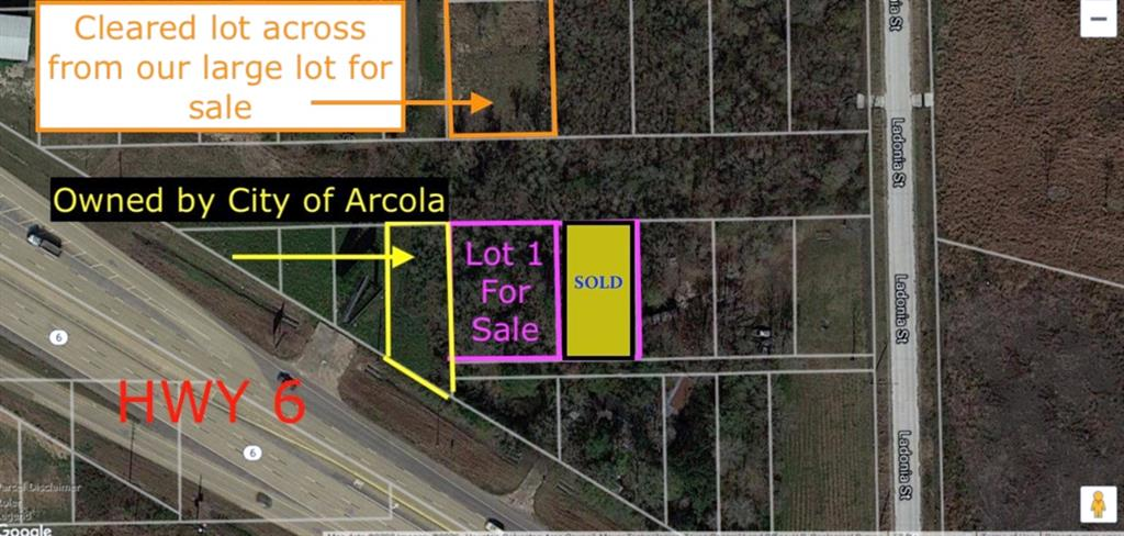 0 Macnicoll St Street Property Photo - Arcola, TX real estate listing