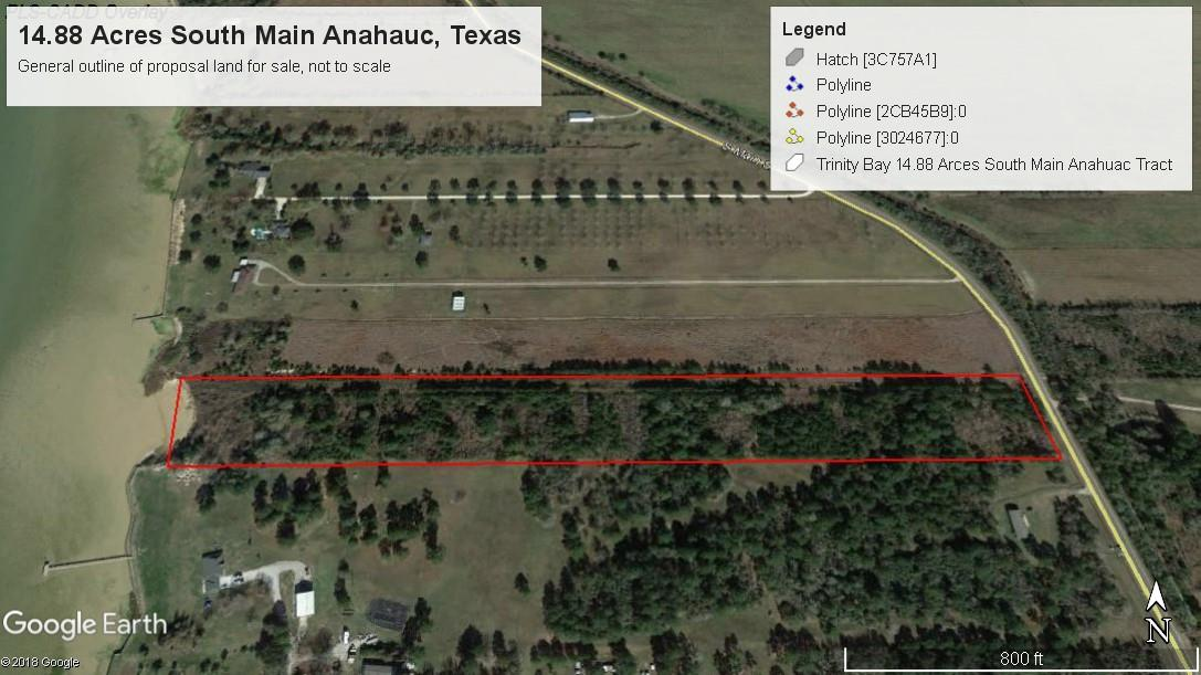 0 S Main Street Property Photo - Anahuac, TX real estate listing