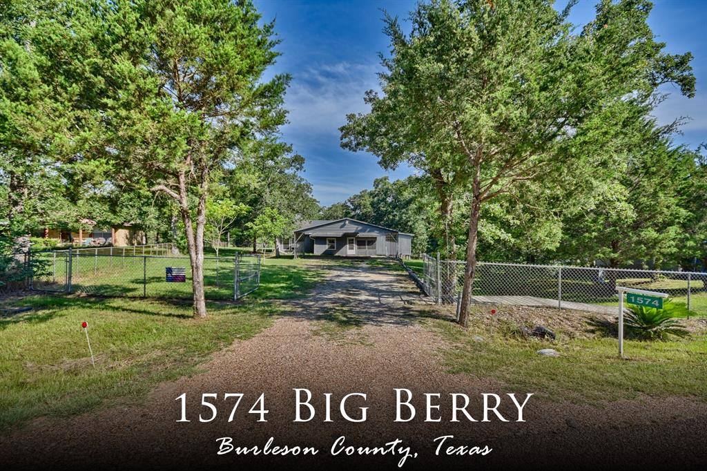 1574 Big Berry Road, Somerville, TX 77879 - Somerville, TX real estate listing