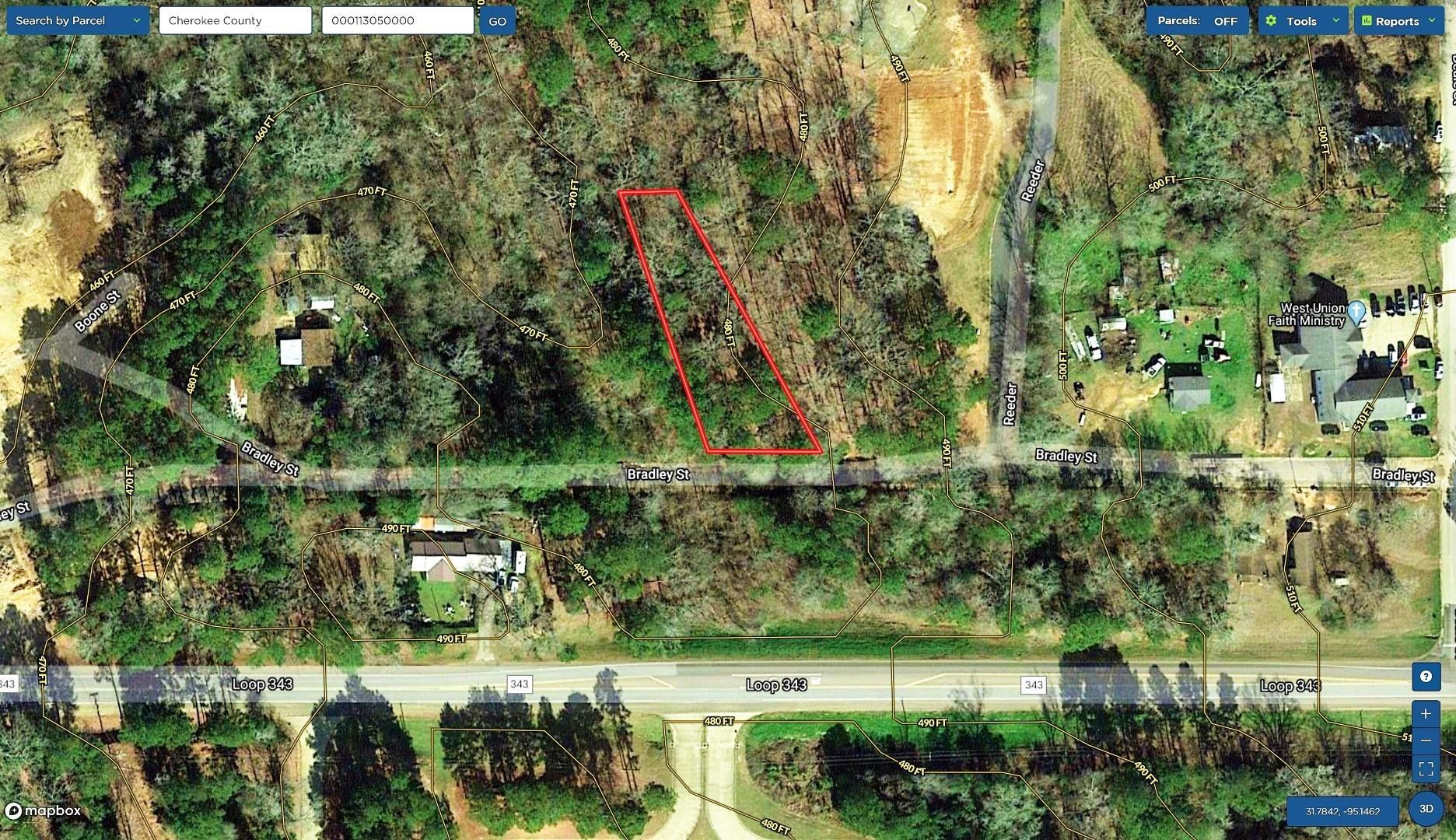 0 Bradley Property Photo - Rusk, TX real estate listing