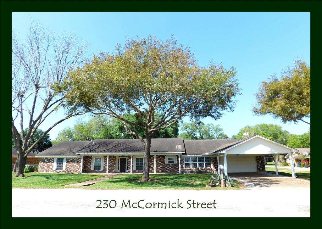 230 Mccormick Street, Columbus, TX 78934 - Columbus, TX real estate listing