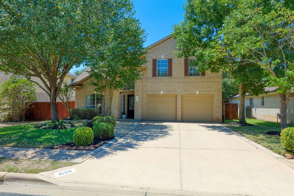 4109 Moss Hollow Drive Property Photo - Round Rock, TX real estate listing