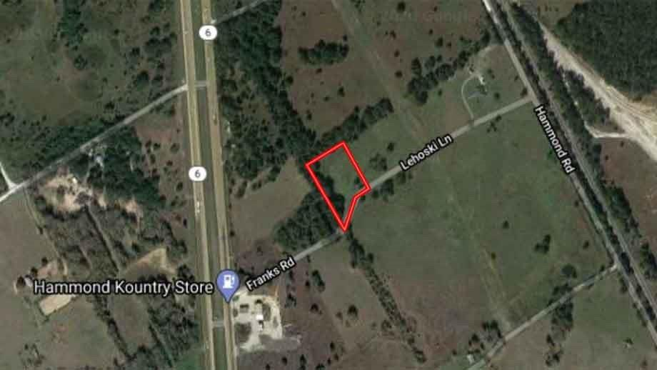 TBD Franks Road Property Photo - Calvert, TX real estate listing