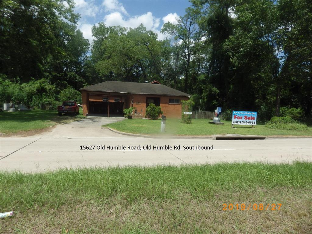 15627 Old Humble Road Property Photo - Houston, TX real estate listing