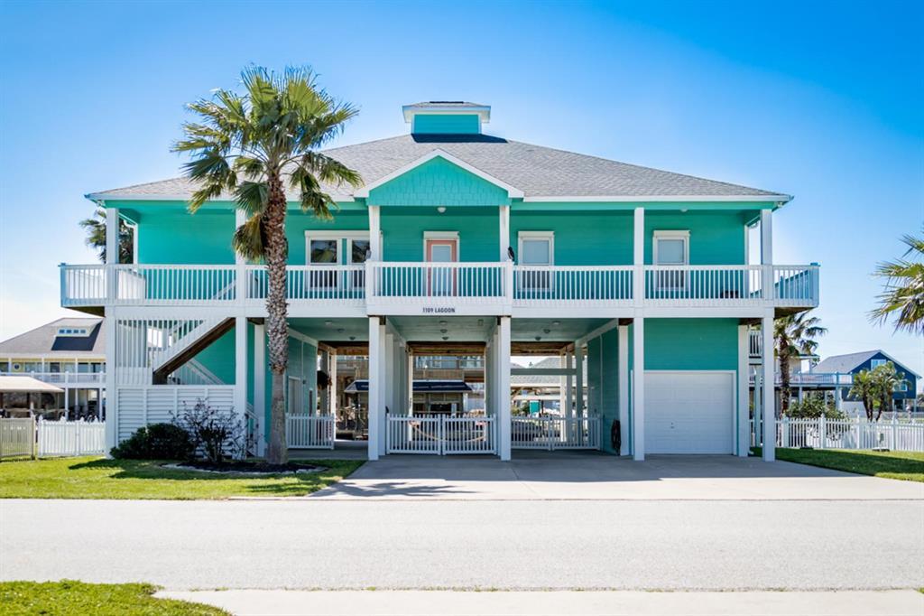 1109 Lagoon Drive, Crystal Beach, TX 77650 - Crystal Beach, TX real estate listing