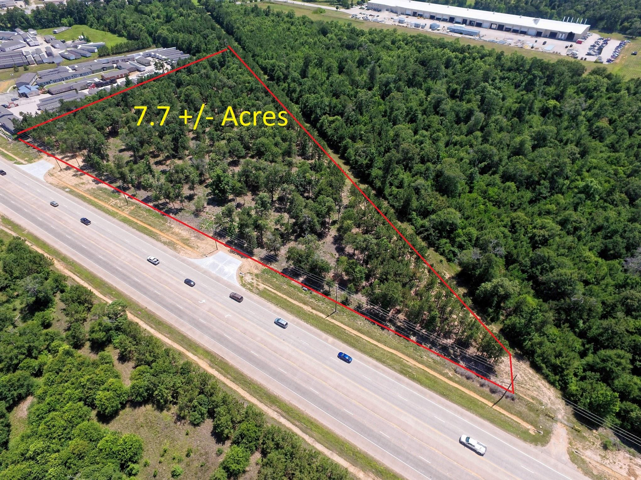 7.7 acres N Loop 336 E Property Photo - Conroe, TX real estate listing