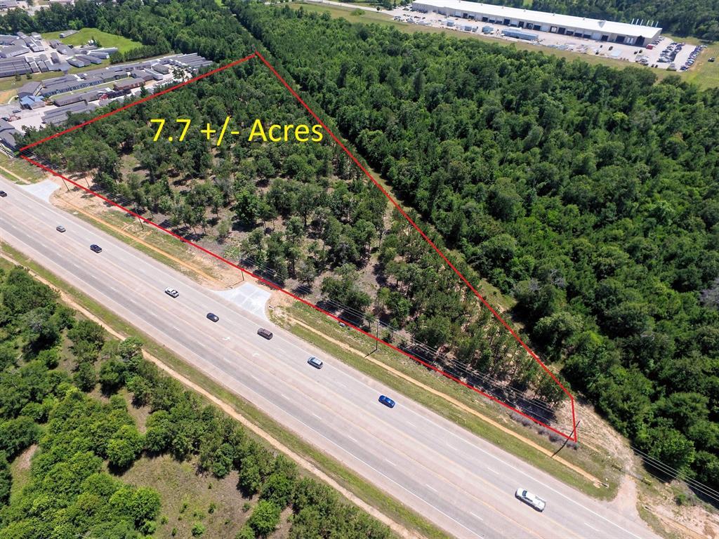 7.7 acres N Loop 336 E Property Photo - Conroe, TX real estate listing