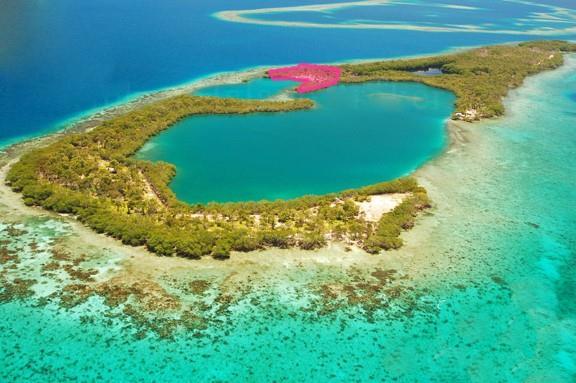 2 2 Acres Peninsula on Saddle Caye Belize Property Photo - Houston, real estate listing