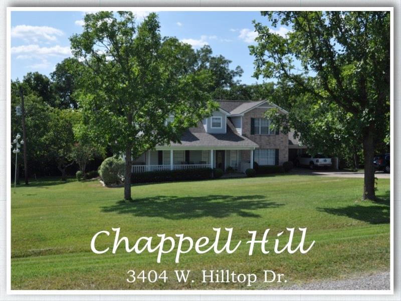 3404 W Hilltop Drive, Chappell Hill, TX 77426 - Chappell Hill, TX real estate listing