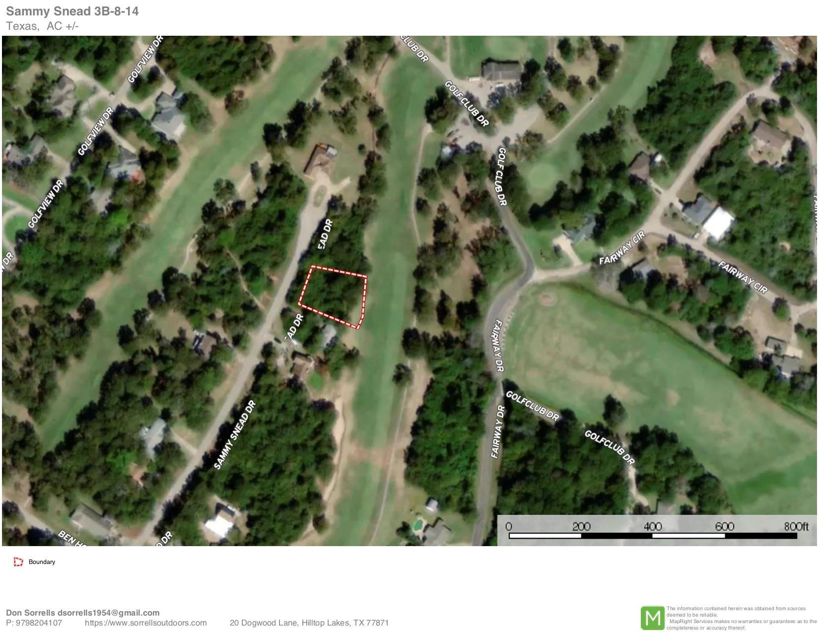 92 Sammy Snead Lane Property Photo - Hilltop Lakes, TX real estate listing