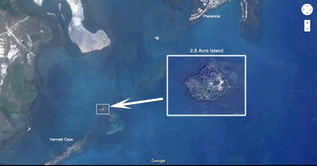 2 2 3/4 Acres Island Near Harvest Caye Belize Property Photo