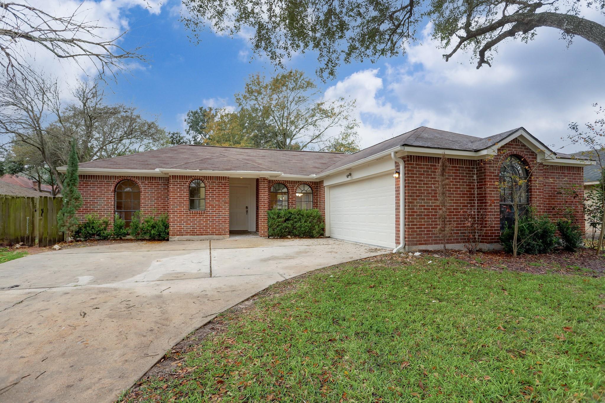 11507 Trudeau Drive Property Photo - Houston, TX real estate listing