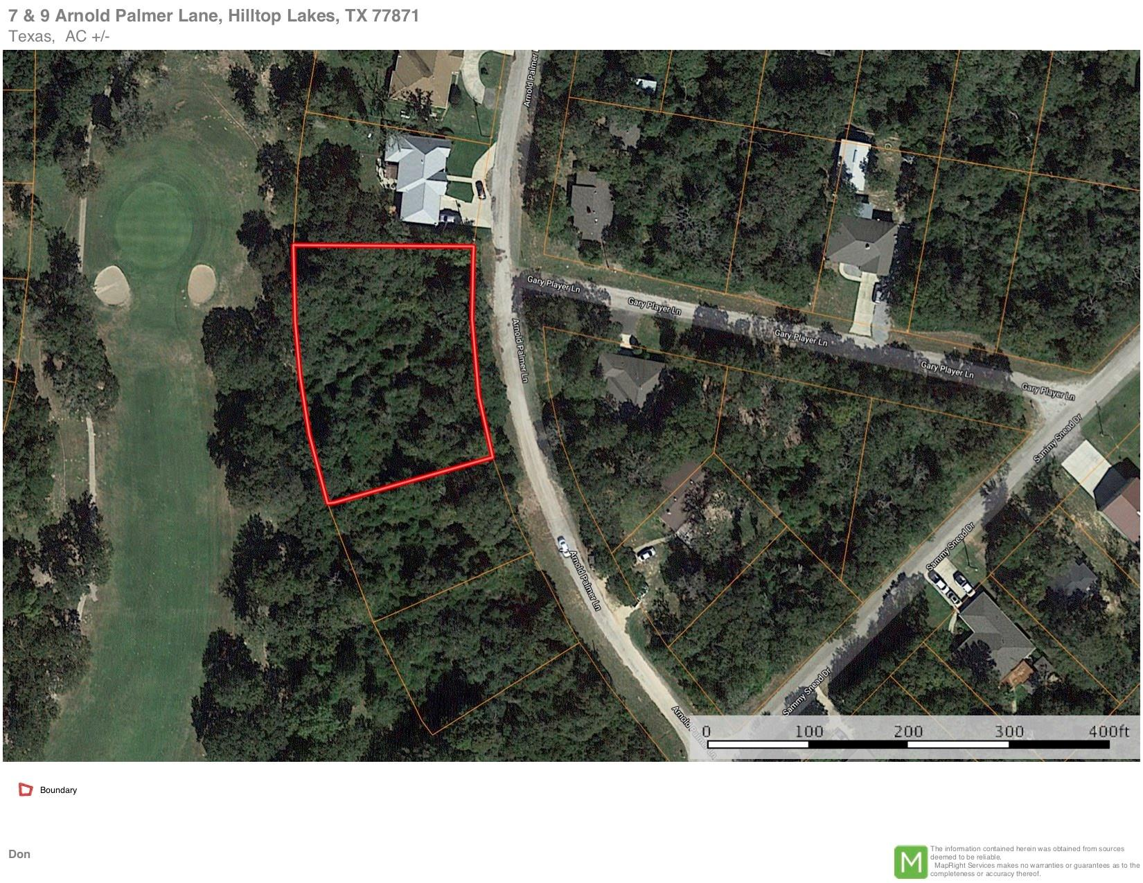 7 Arnold Palmer Lane Property Photo - Hilltop Lakes, TX real estate listing