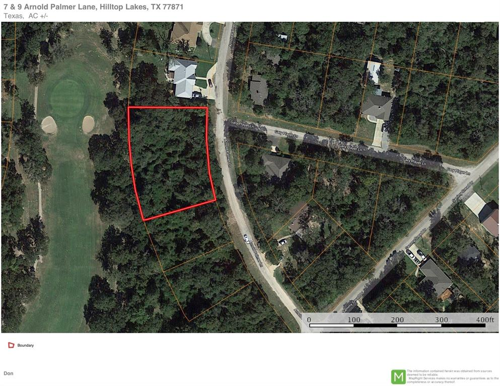 7 Arnold Palmer Lane Property Photo - Hilltop Lakes, TX real estate listing