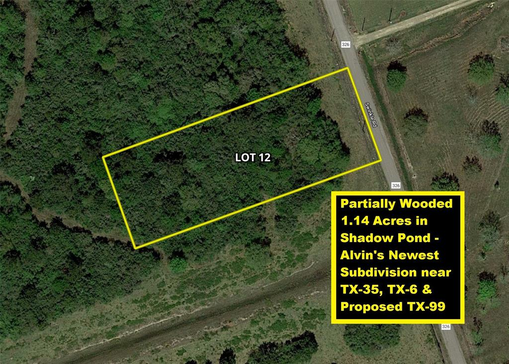 Lot 12 County Road 326 Property Photo - Alvin, TX real estate listing