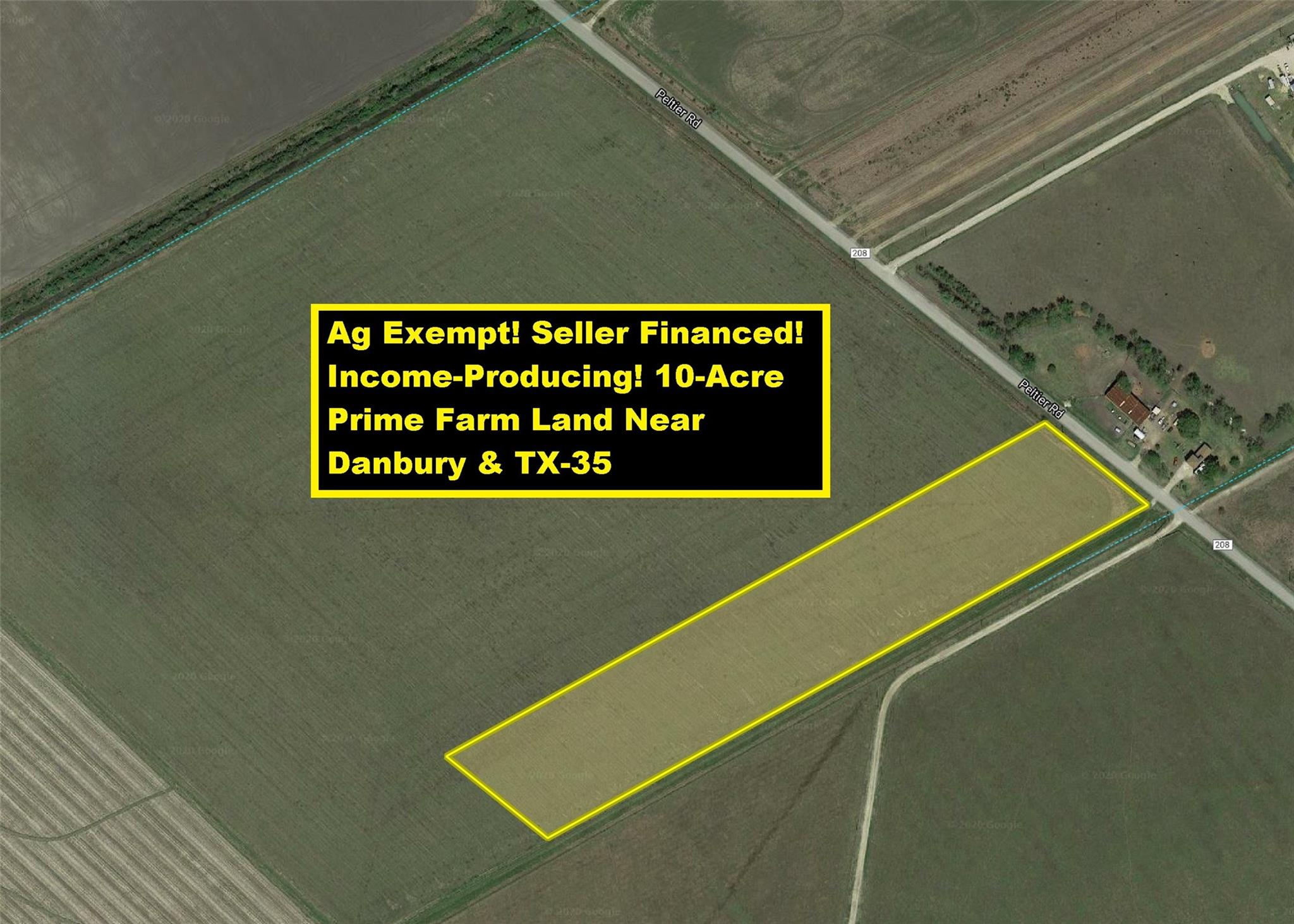 Lot 6 County Road 208 Property Photo - Danbury, TX real estate listing