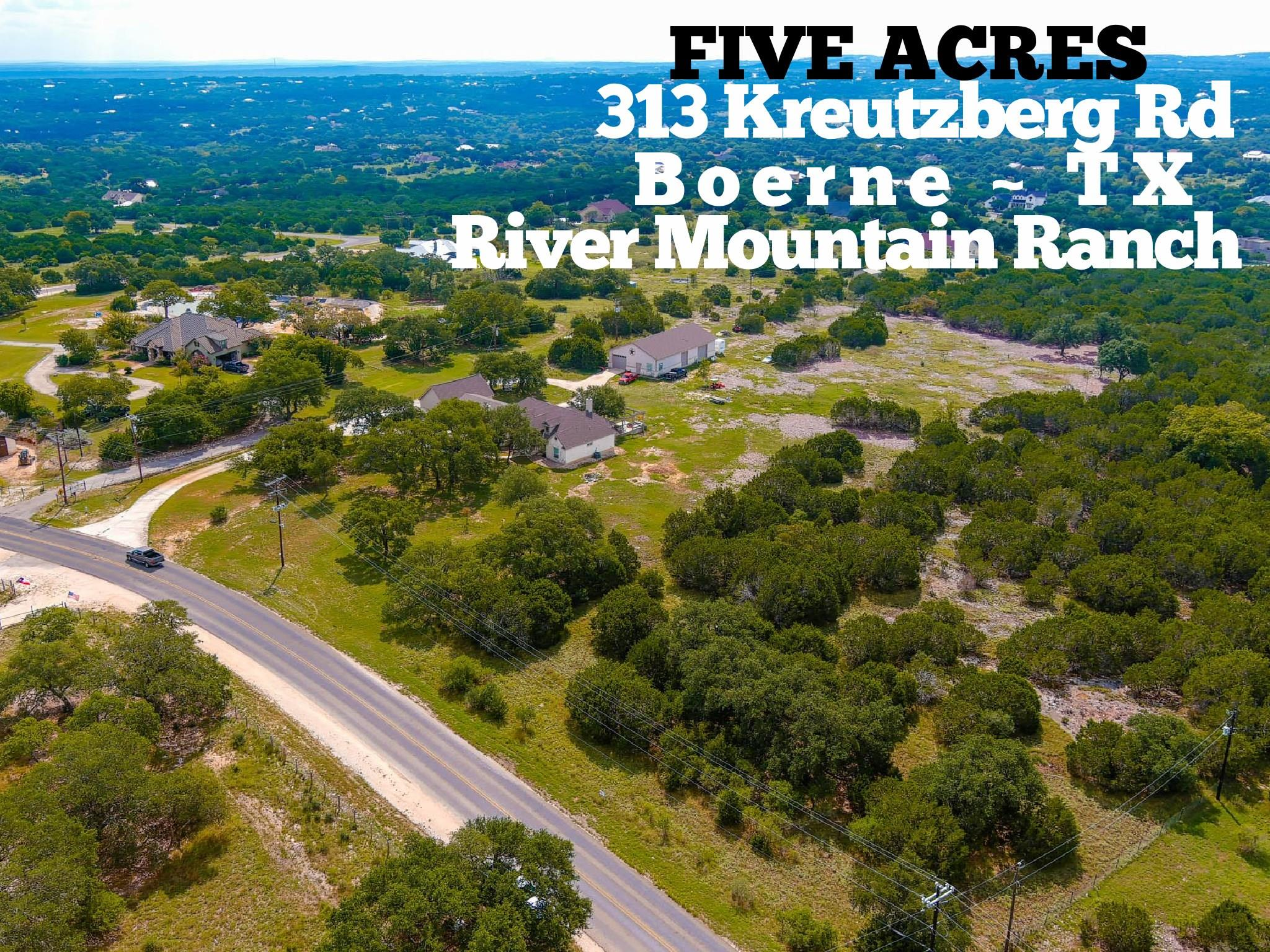 313 Kreutzberg Road Property Photo - Boerne, TX real estate listing