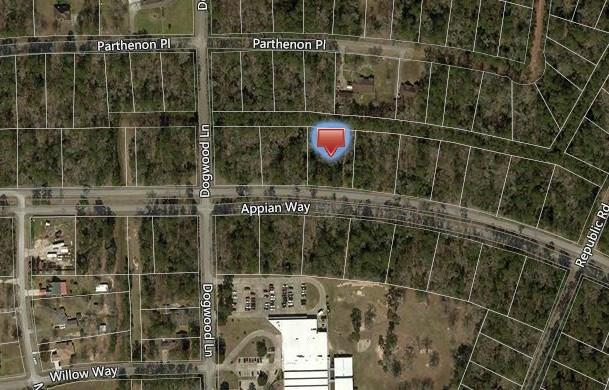 Lot 25 Appian Way Property Photo - Roman Forest, TX real estate listing