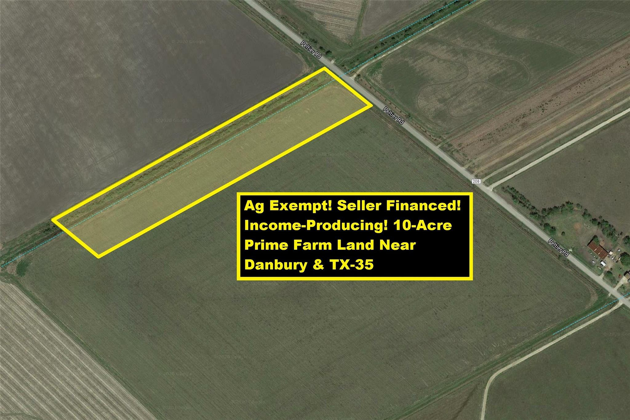Lot 1 County Road 208 Property Photo - Danbury, TX real estate listing