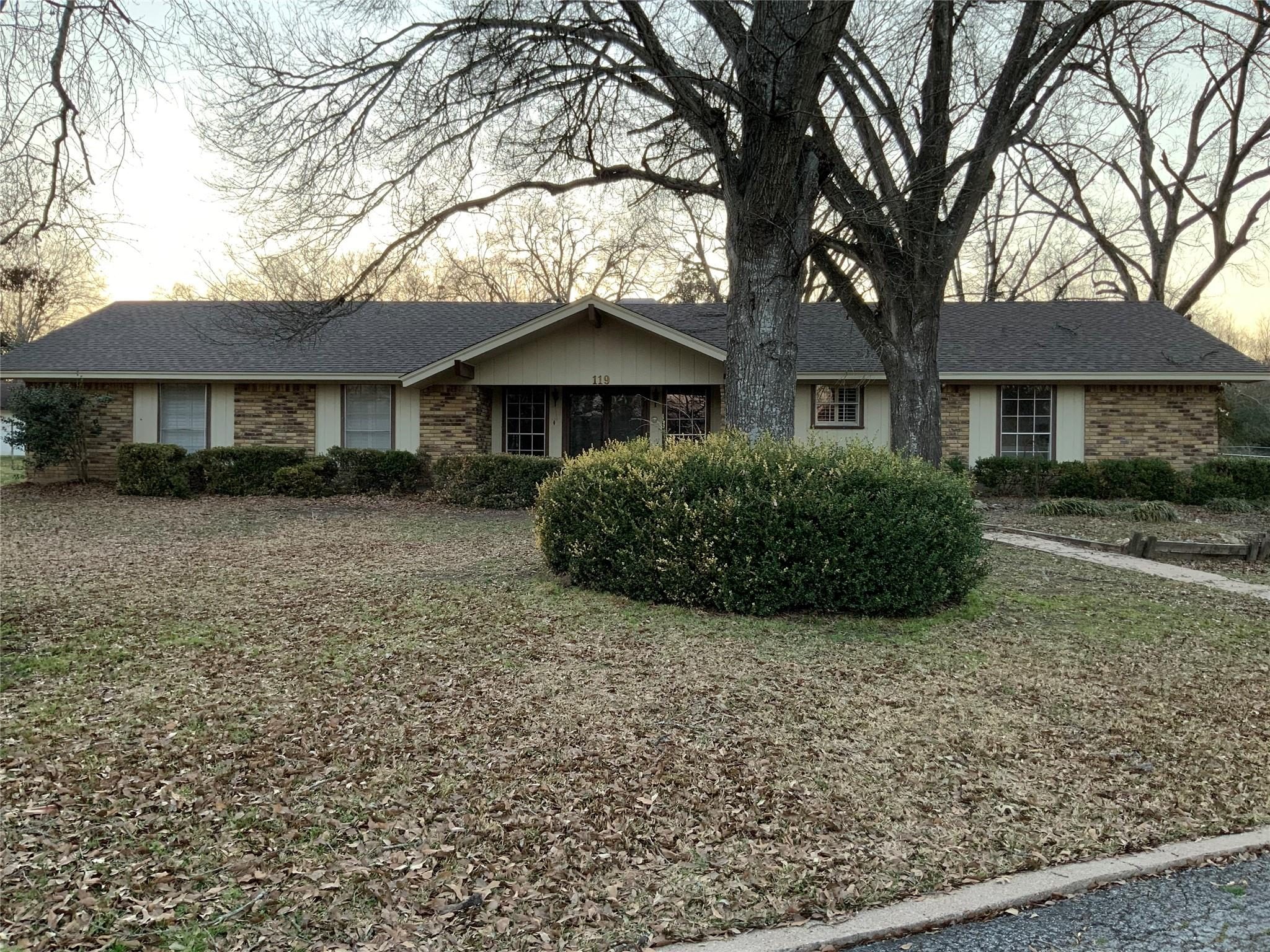 119 Meadow Lane Property Photo - Groesbeck, TX real estate listing