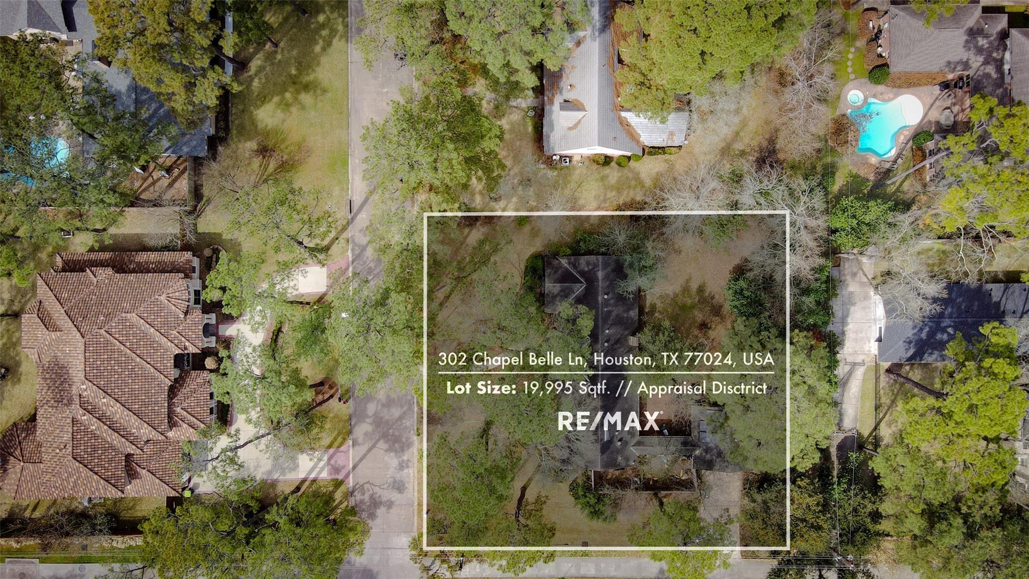 302 Chapel Belle Lane Property Photo - Bunker Hill Village, TX real estate listing
