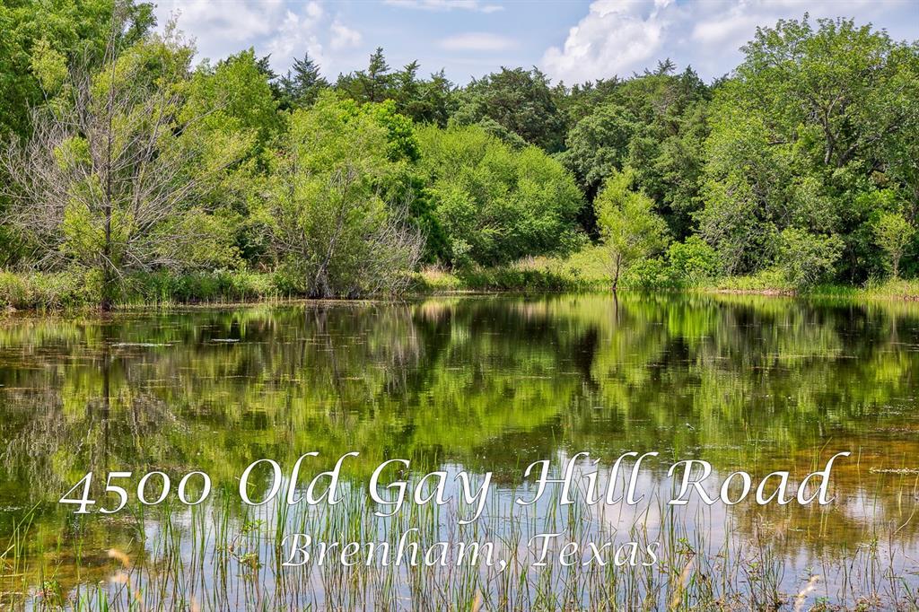 4500 Old Gay Hill Road, Brenham, TX 77833 - Brenham, TX real estate listing