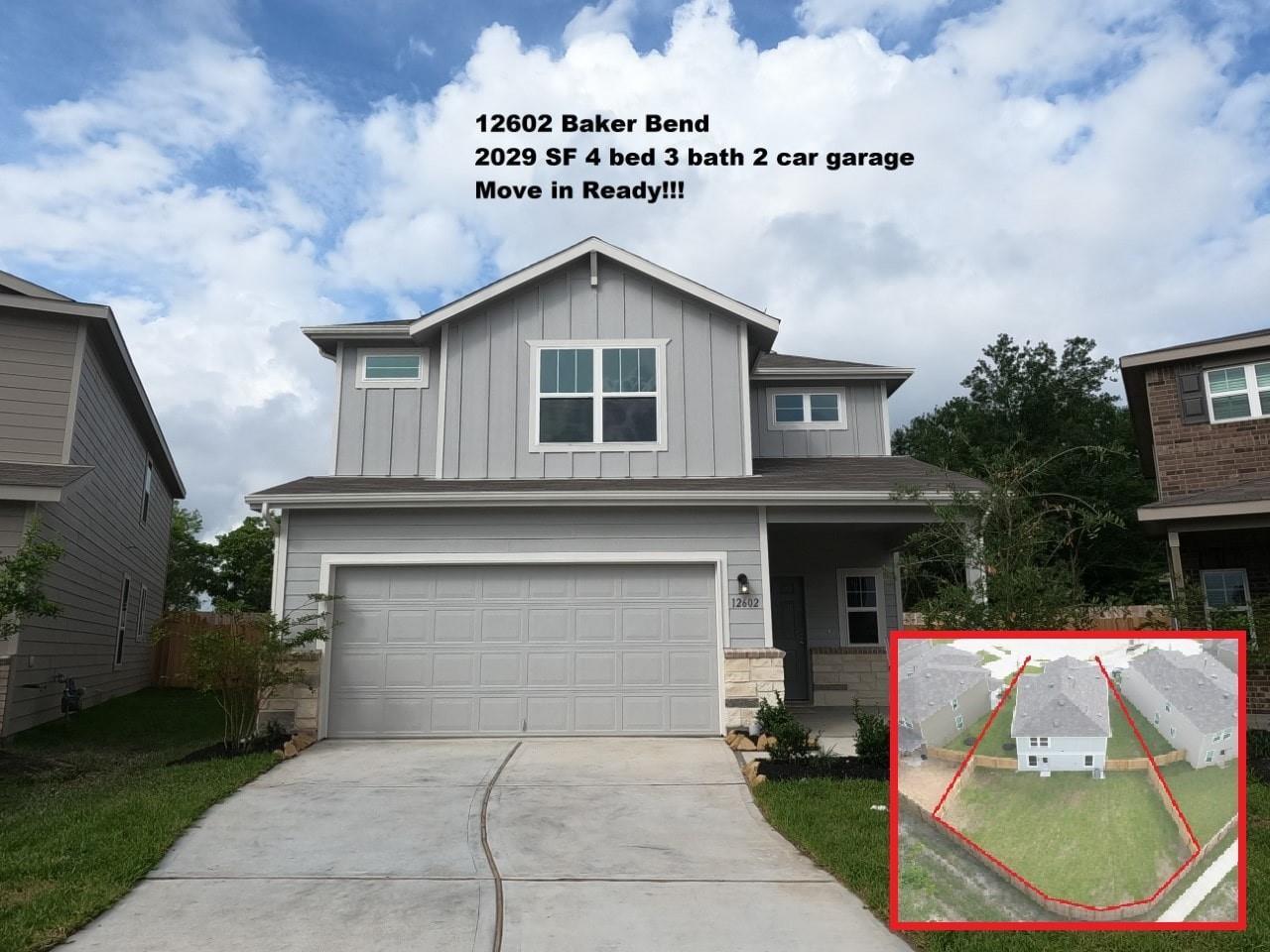 12602 Baker Bend Street Property Photo