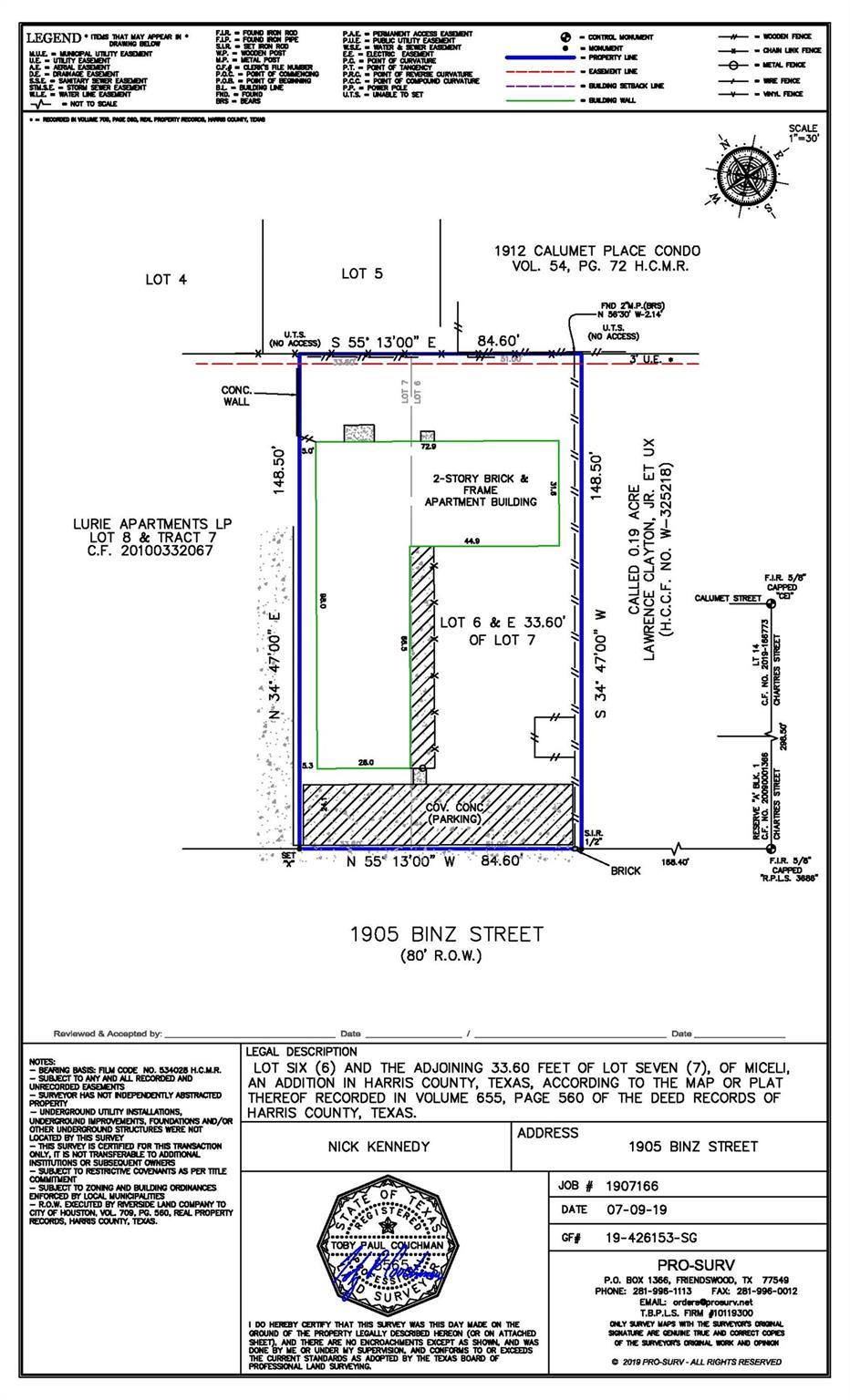 1905 Binz Street #1-10 Property Photo 1