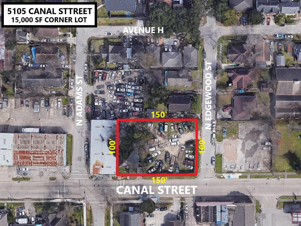 5105 Canal Street Property Photo - Houston, TX real estate listing