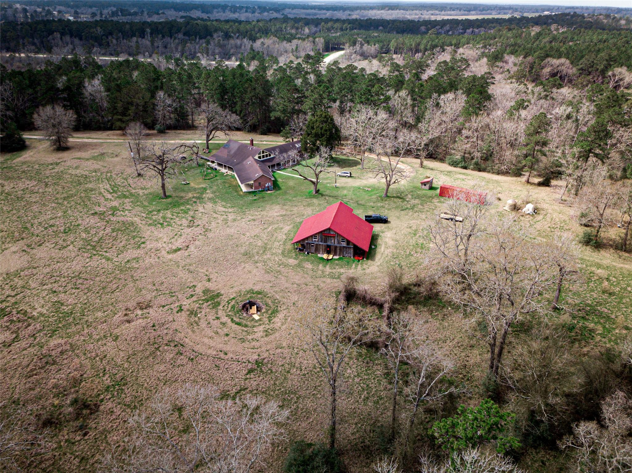 132 A Sandy Creek Farm Road Property Photo - New Waverly, TX real estate listing