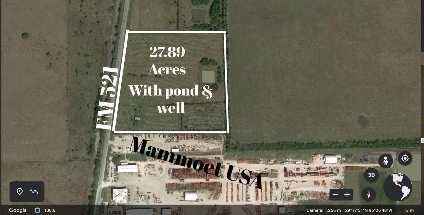 ABST 104, 122, 71 Fm 521 Property Photo - Rosharon, TX real estate listing