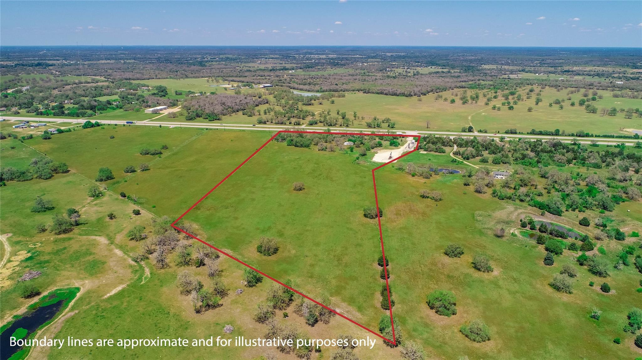 Tract 3 (21.457 Acres) Hwy 290 E Property Photo - Giddings, TX real estate listing