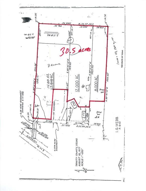 320 Ward Road Property Photo - Trinity, TX real estate listing