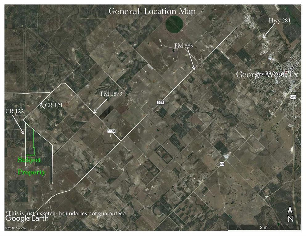 000 County Road 122 Property Photo - George West, TX real estate listing