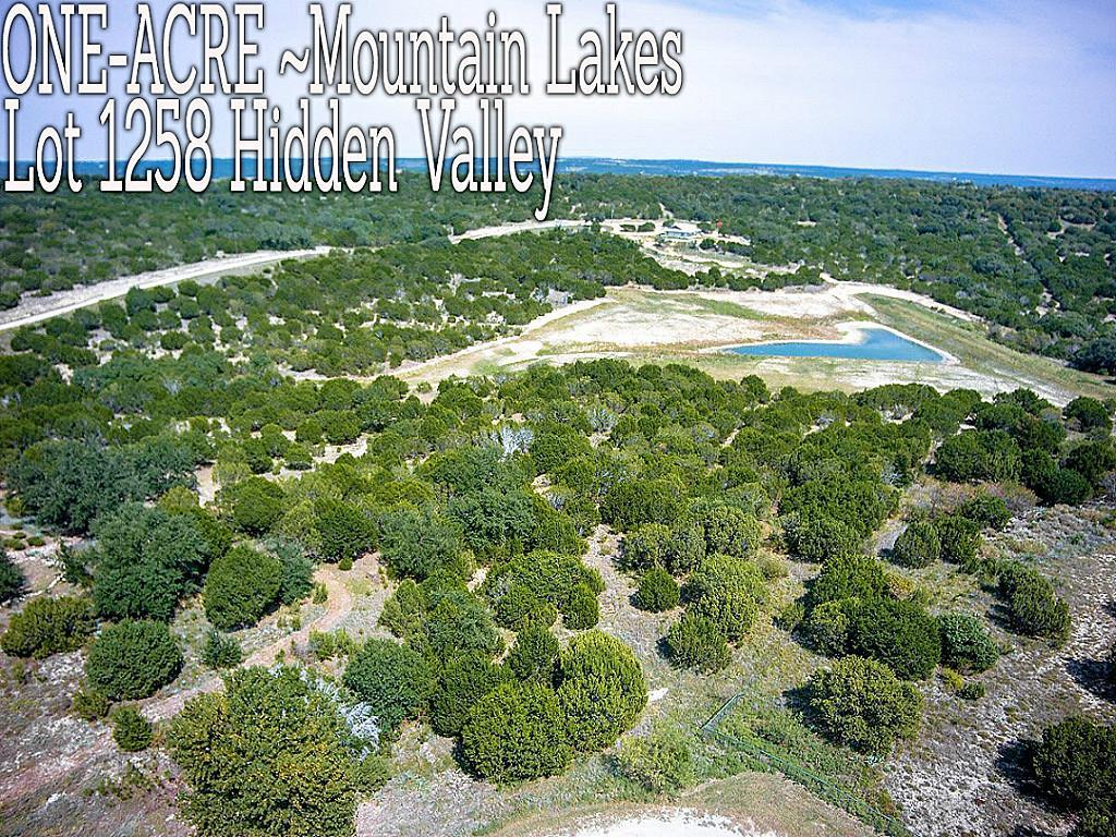 Lt 1258 Hidden Valley, Bluff Dale, TX 76433 - Bluff Dale, TX real estate listing