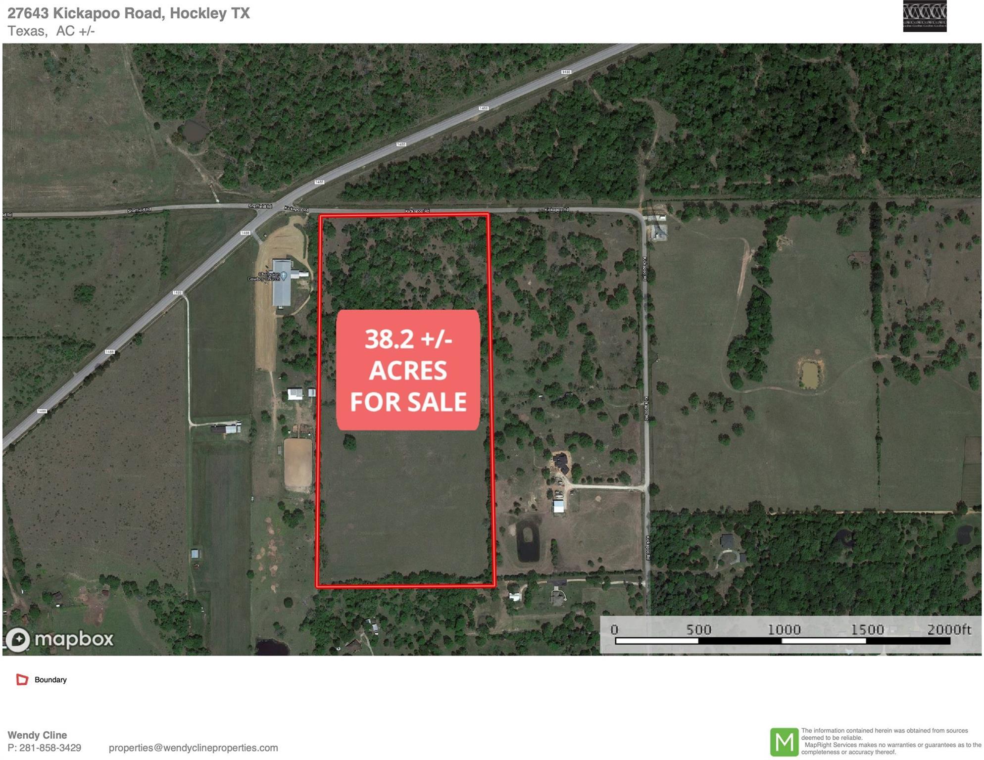 27643 Kickapoo Road Property Photo - Hockley, TX real estate listing