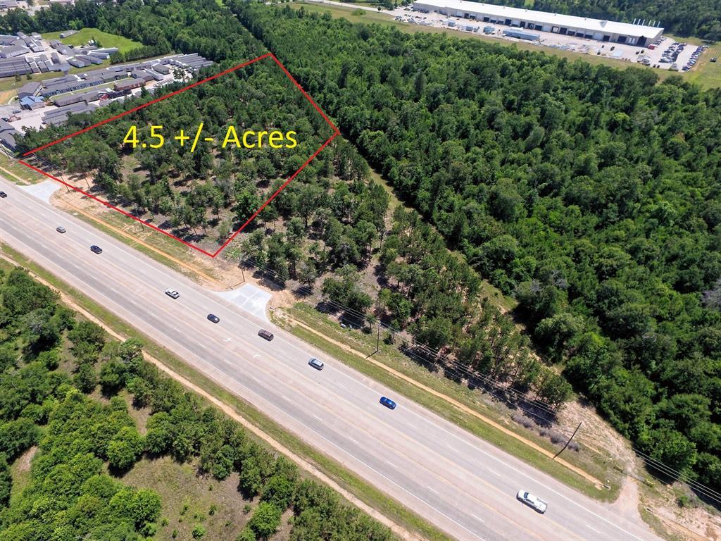 4.5 acres N Loop 336 E Property Photo - Conroe, TX real estate listing