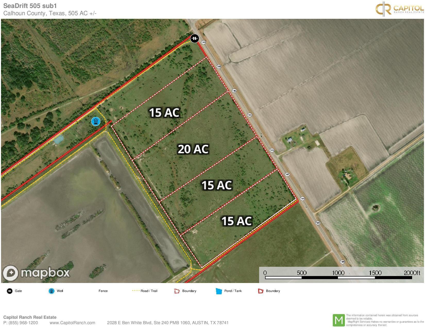 00 Highway 185 Property Photo - Seadrift, TX real estate listing