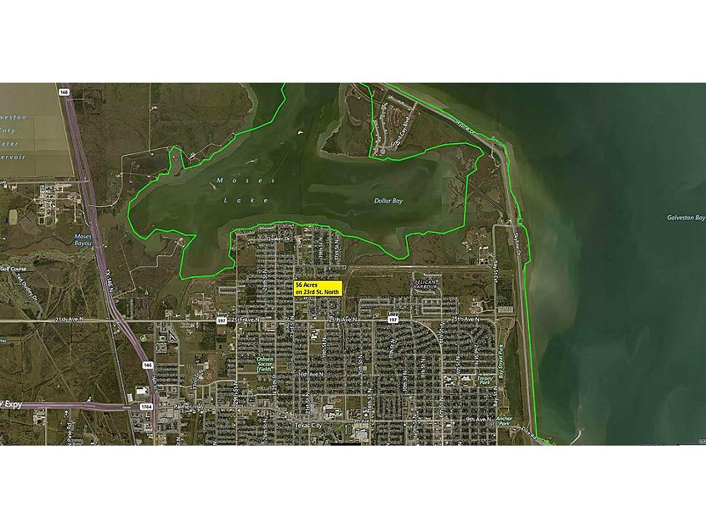 56 Acres 23rd Street N Property Photo - Texas City, TX real estate listing