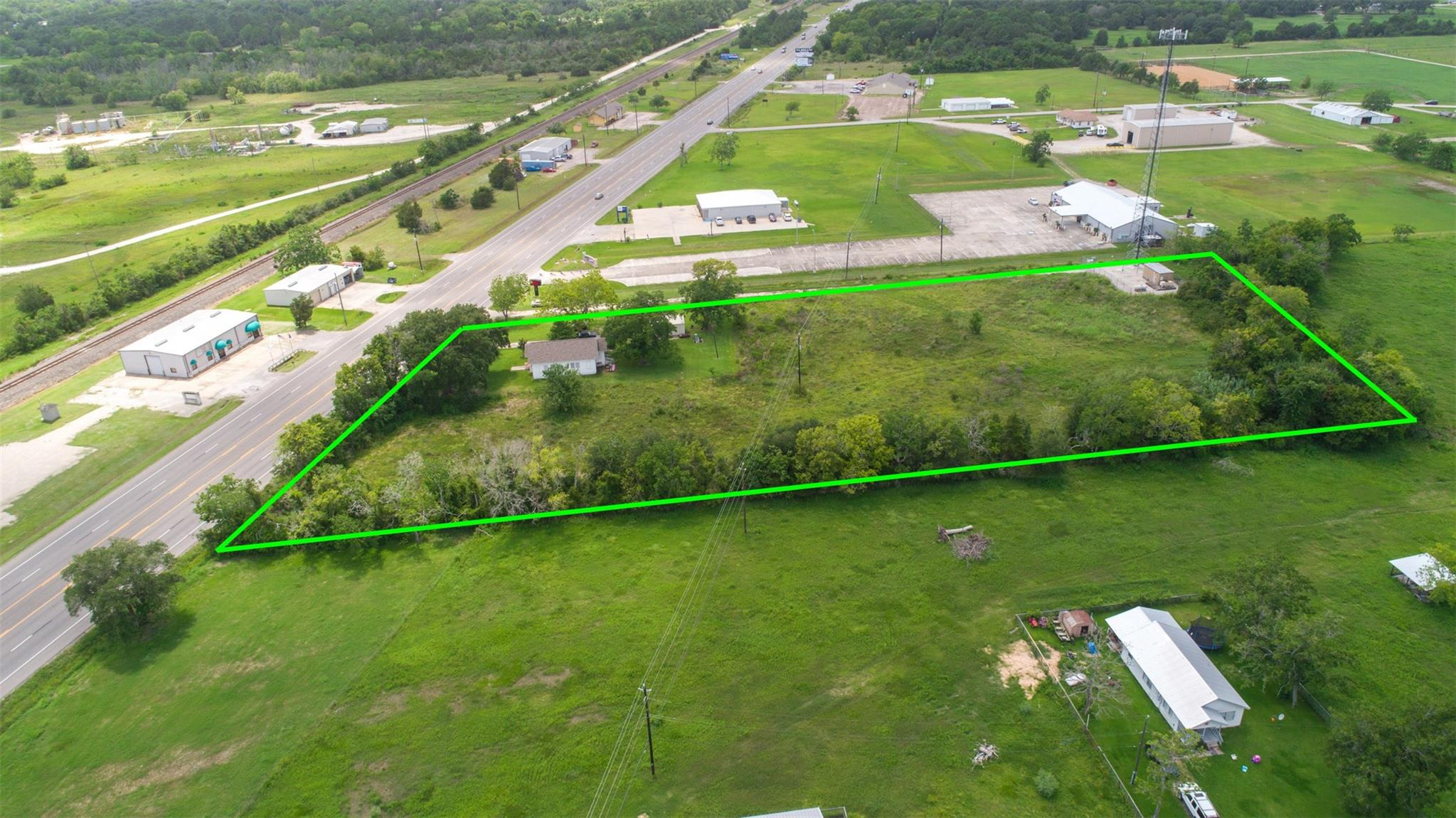 11038 Highway 6 Property Photo - Hitchcock, TX real estate listing
