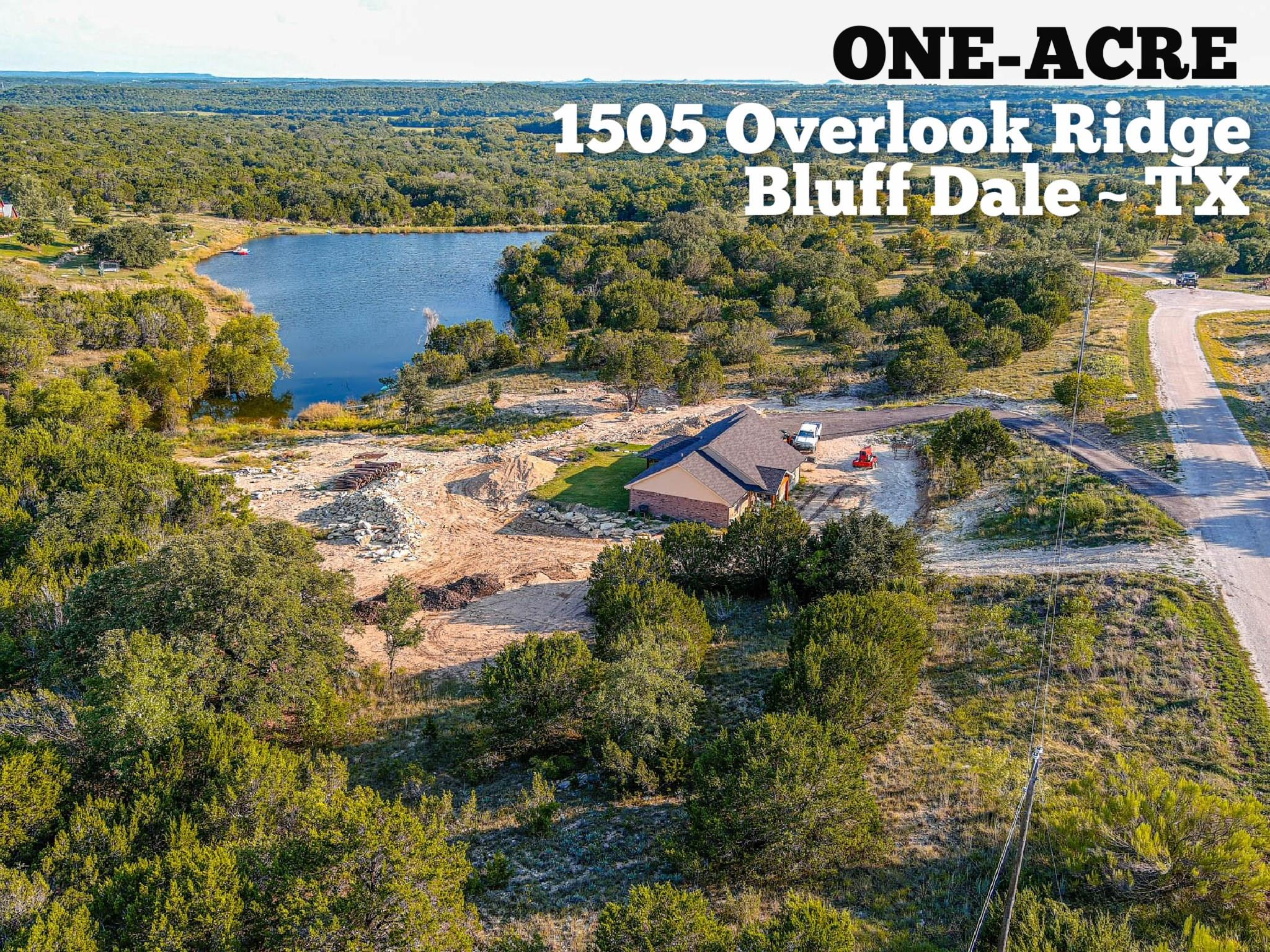 1505 Overlook Ridge Property Photo - Bluff Dale, TX real estate listing