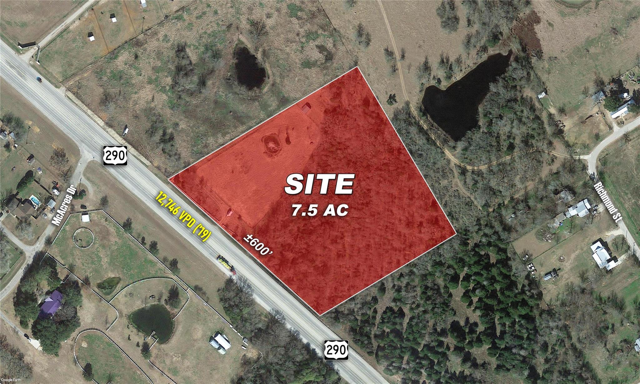 0 Highway 290 McDade Property Photo - McDade, TX real estate listing