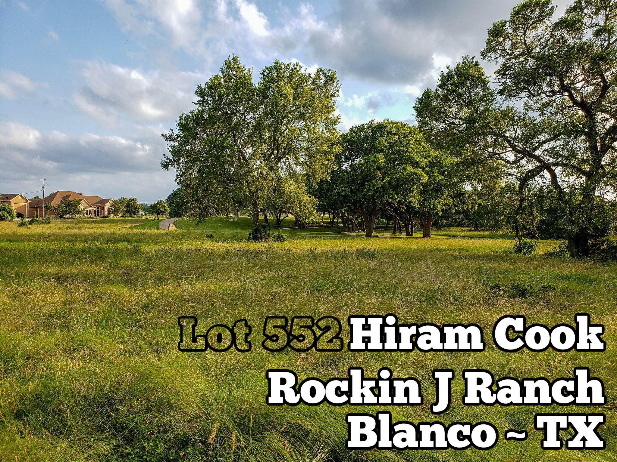 Lot 552 Hiram Cook Property Photo