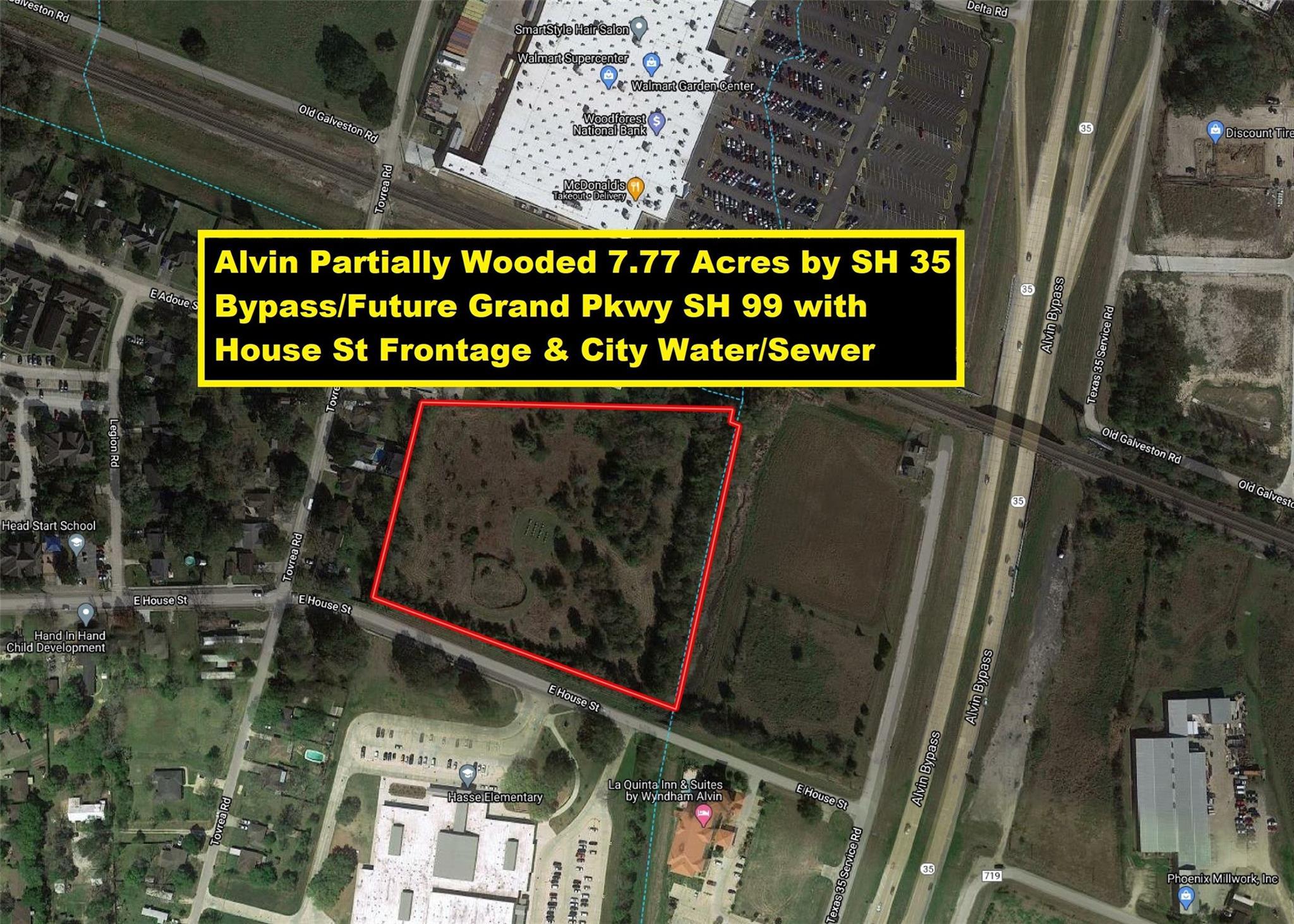 0 E House Street Property Photo - Alvin, TX real estate listing