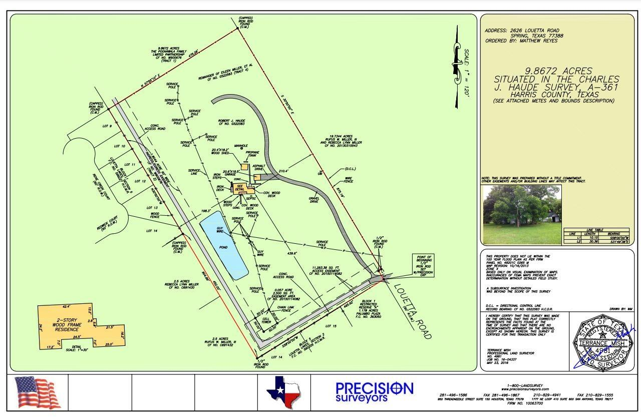 2626 Old Louetta Loop Property Photo - Spring, TX real estate listing