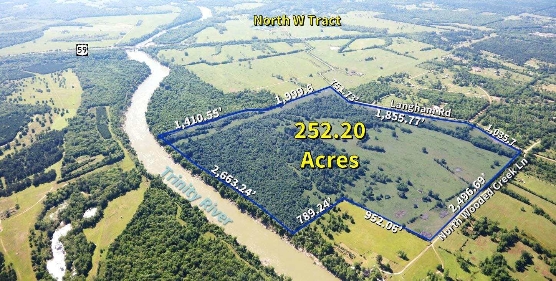 TBD Wooded Creek Lane Property Photo - Shepherd, TX real estate listing