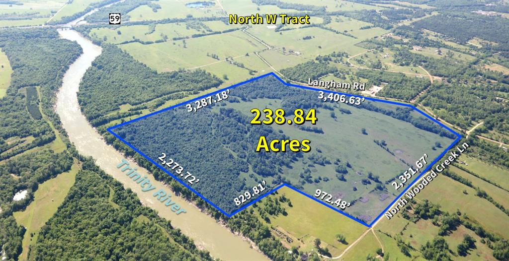 TBD Wooded Creek Lane, Shepherd, TX 77371 - Shepherd, TX real estate listing
