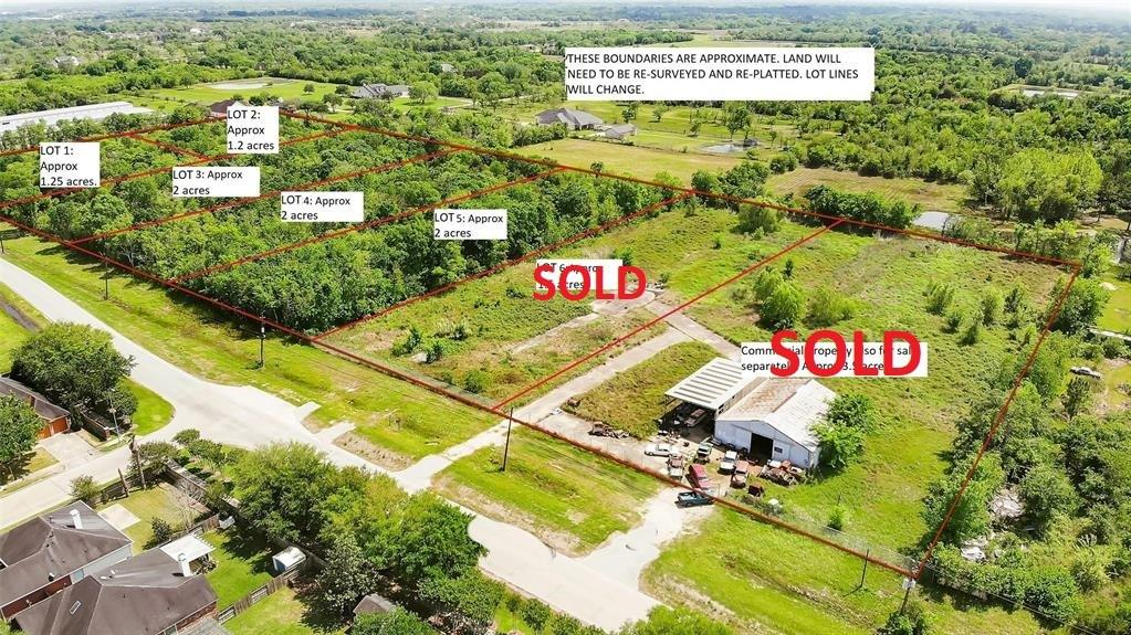 0 Bailey Ave/ LOT 4 Property Photo - Manvel, TX real estate listing