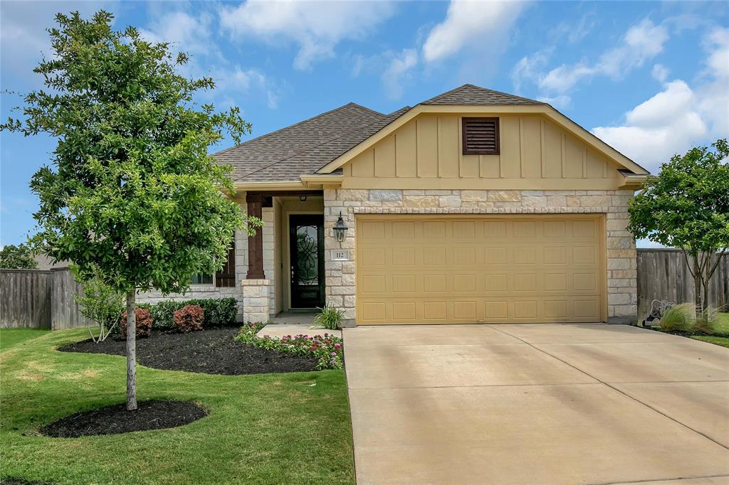 112 Silverspot Court Property Photo - Georgetown, TX real estate listing